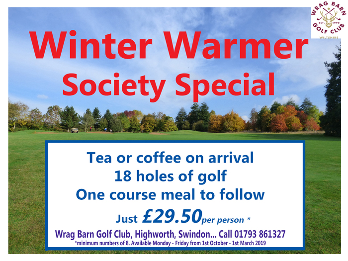Winter Warmer Golf Package