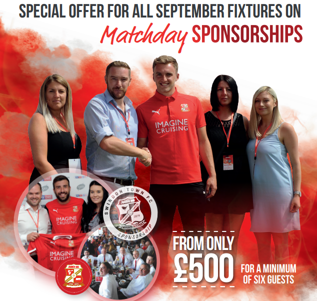 Special Offer for Matchday Sponsorships