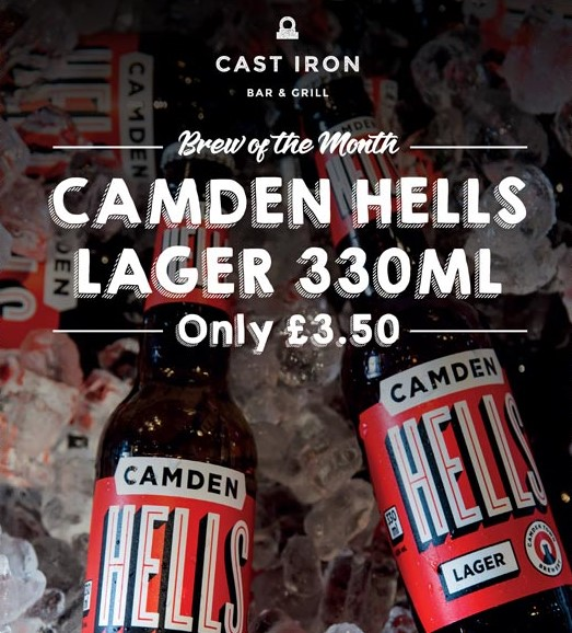 Brew of the Month - Camden Hells Lager