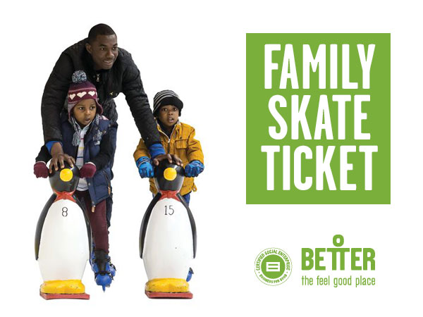 Family Skate Ticket
