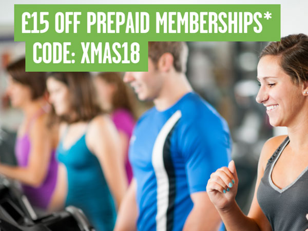 £15 Off Prepaid Memberships*