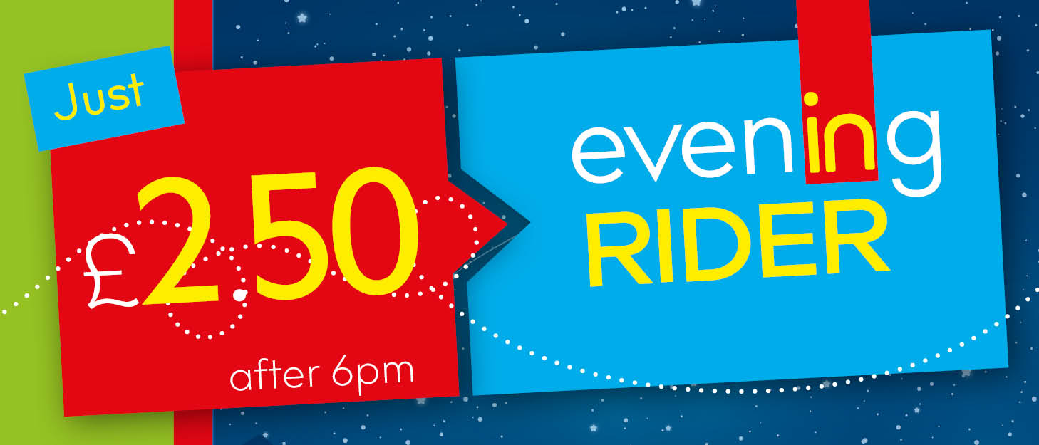 Unlimited Evening Travel £2.50