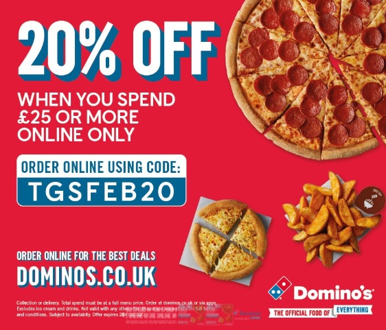 Domino's Pizza offers Swindon