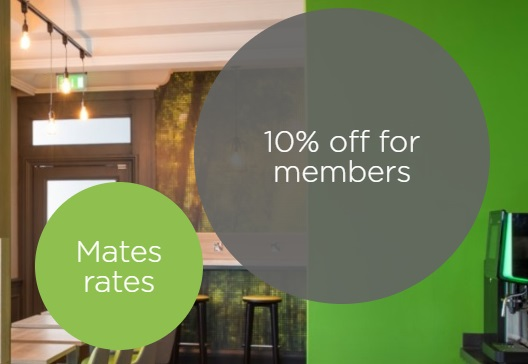 Mates Rates: 10% Off for Members