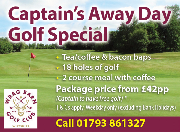 Captain's Away Day Golf Special