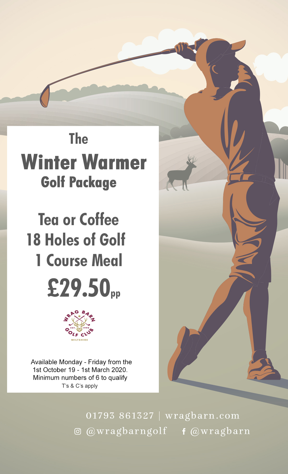 The Winter Warmer Golf Package