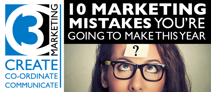 10 Marketing Mistakes to Avoid in 2016