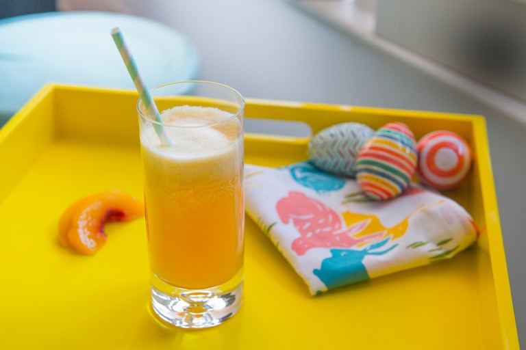 Recipe: Peachy Ginger Blast