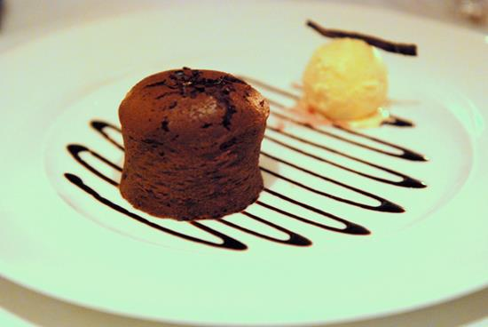 Recipe: Chocolate Fondant (Restaurant 56)