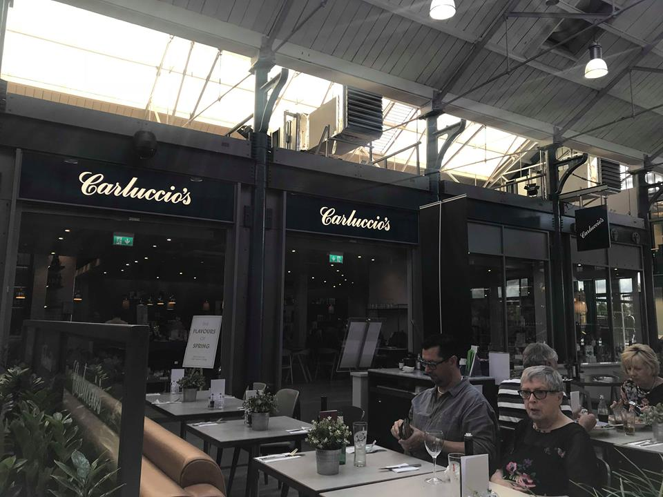 Review: Lunch at Carluccios Italian Restaurant