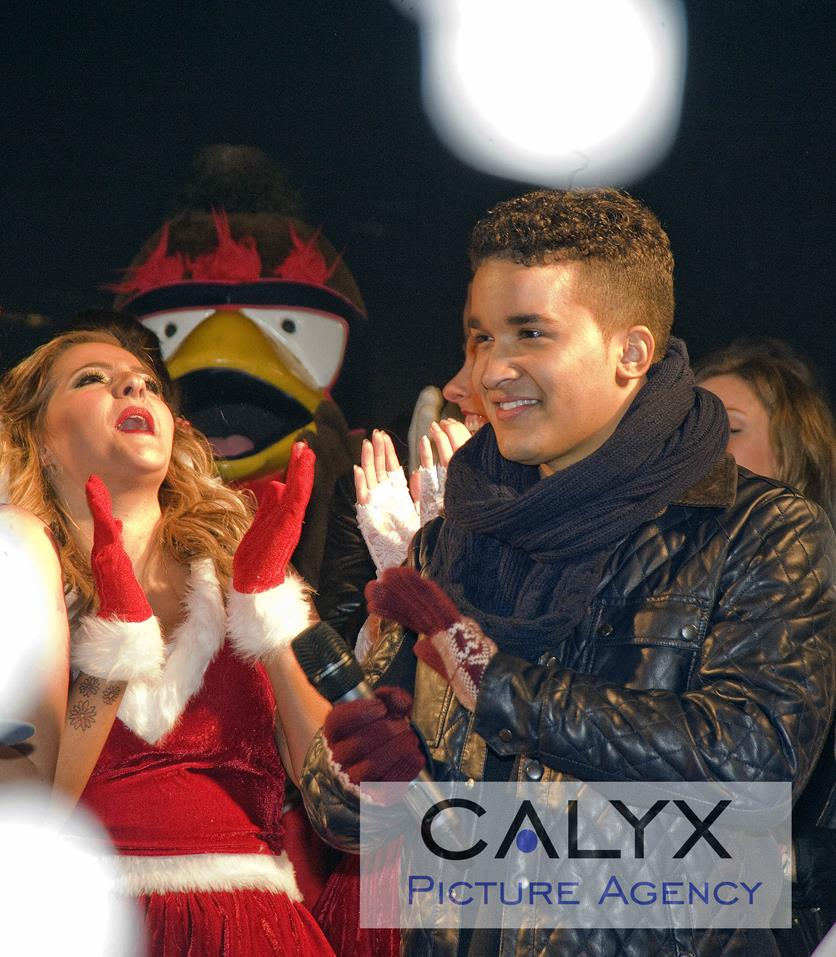 Snapped: Swindon Christmas Light Switch On 2013