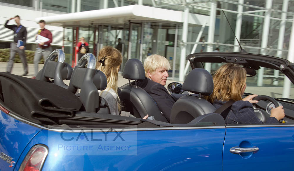 Snapped: Boris Johnson Visits Nationwide