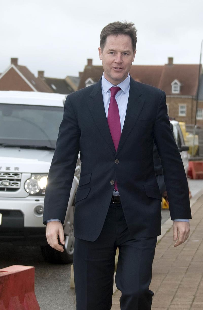 Snapped: Nick Clegg visits Swindon to sign Growth Deal