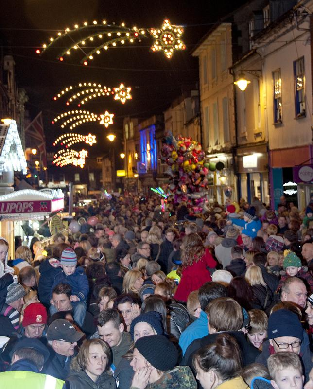 Snapped: Old Town Christmas Lights Switch on 2014