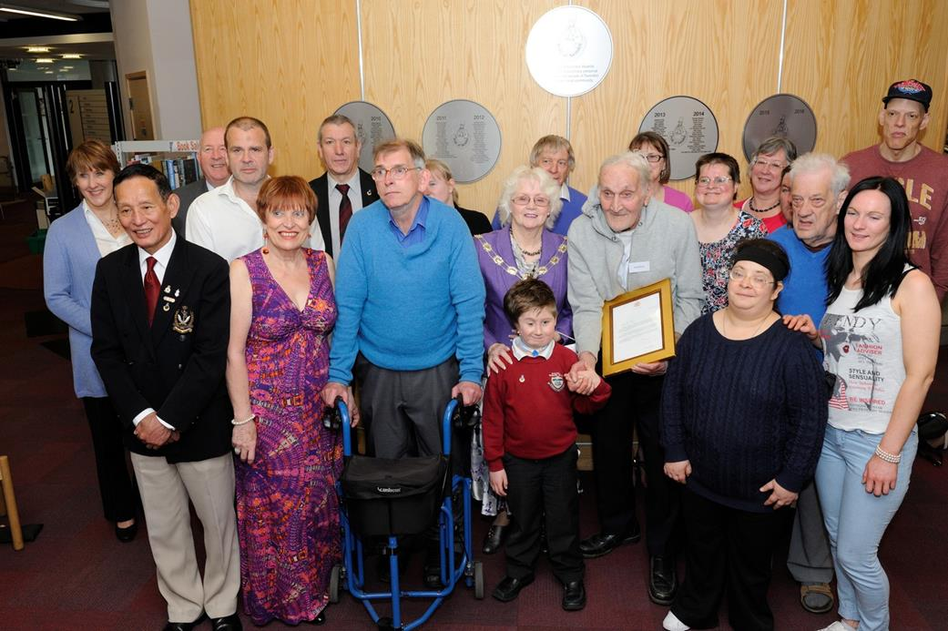 Snapped: Pride of Swindon Plaque Unveiled