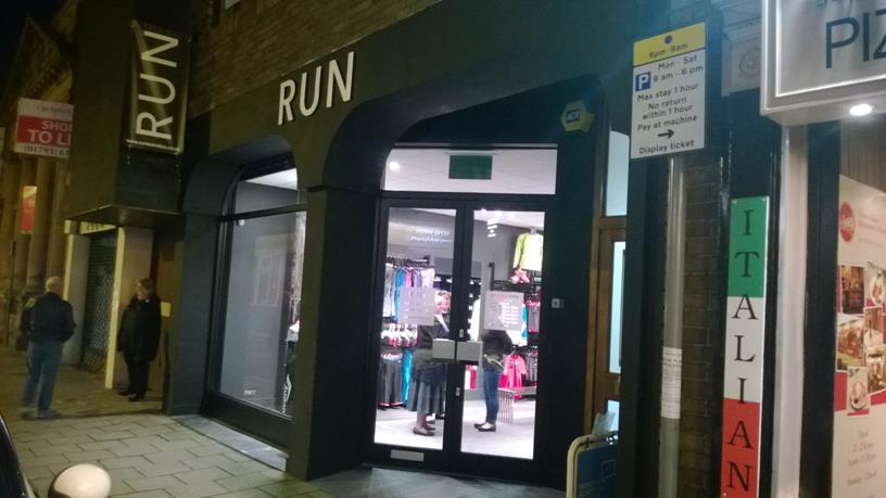 Snapped: Run Swindon Grand Re-Opening