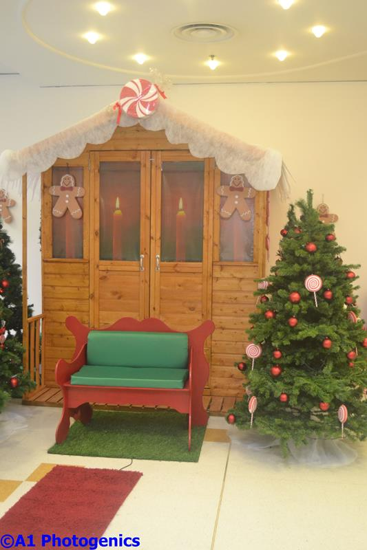 how to make a simple santa grotto