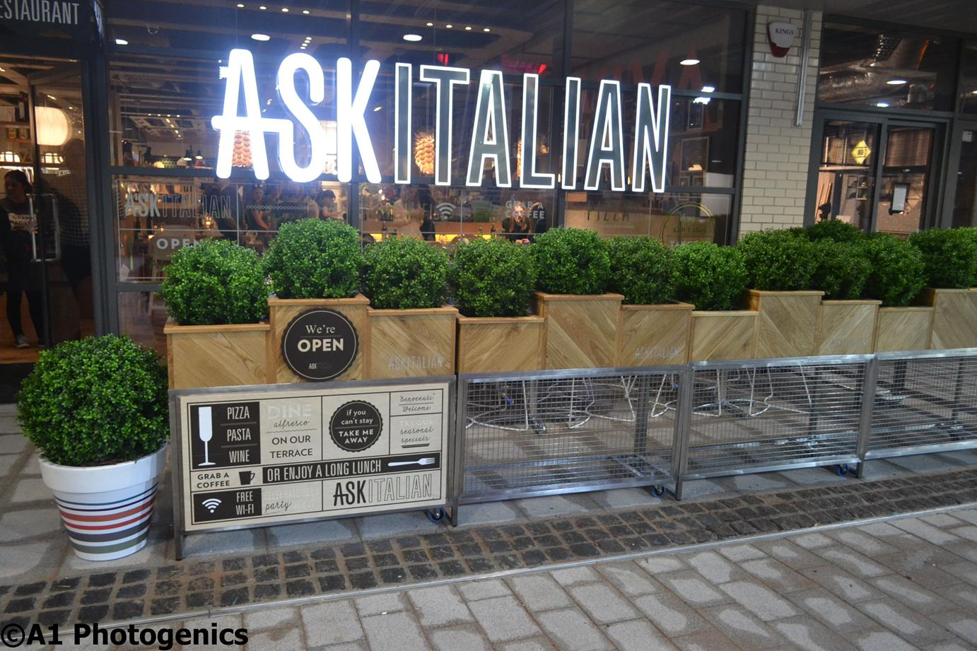 Snapped: Inside the New ASK Italian Swindon