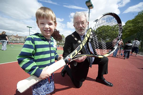 Snapped: Swindon Community Tennis Launch