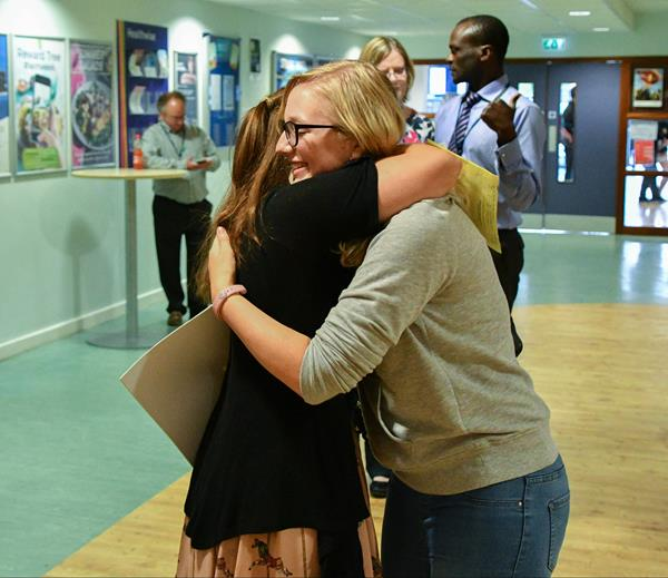 Snapped: New College A Level Results Day