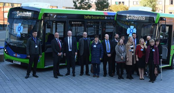 Snapped: New Bus Launch Event