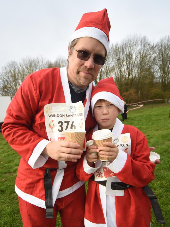Snapped: Santa Fun Run 2017