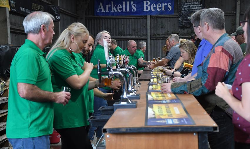 SNAPPED: Arkell's Beer Festival
