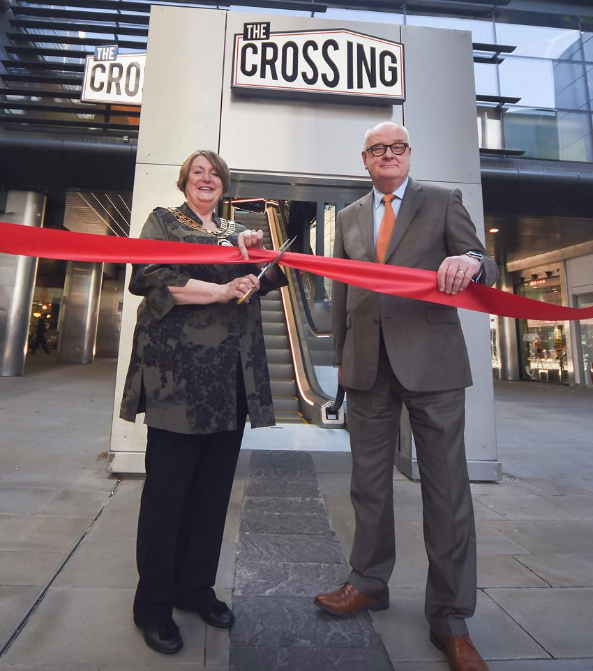 Snapped: The Crossing Official Opening at The Brunel