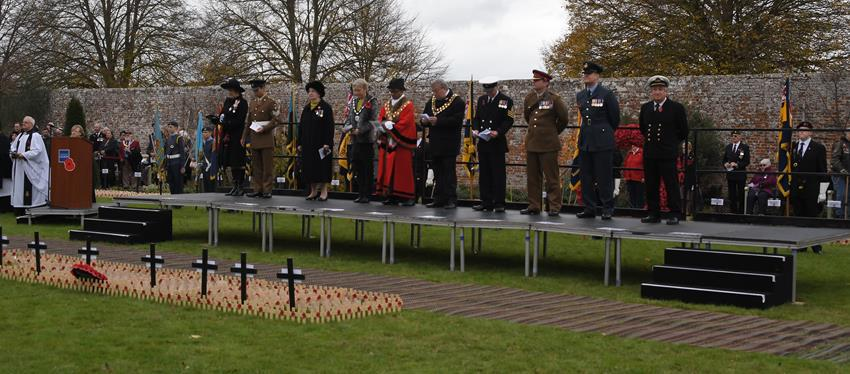 Snapped: Royal Wootton Basset Field of Remembrance 2018