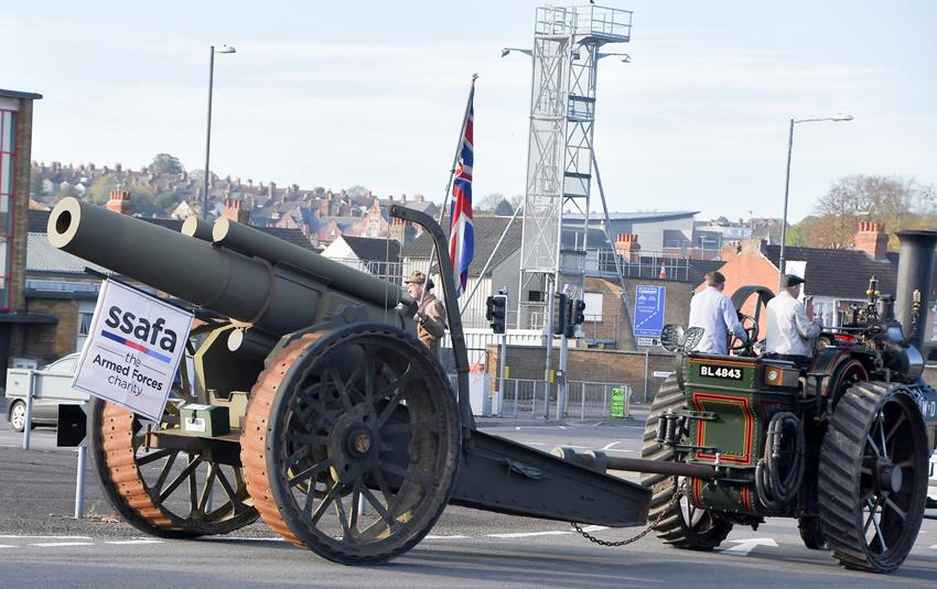 SNAPPED: The Howitzer in Swindon