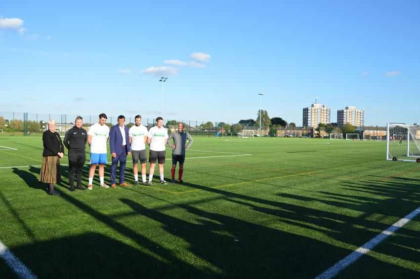 SNAPPED: New College 3G Pitch Launch Event