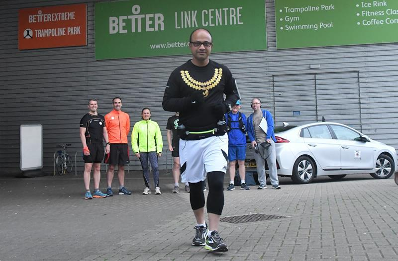 SNAPPED: Mayor's Swindon Marathon