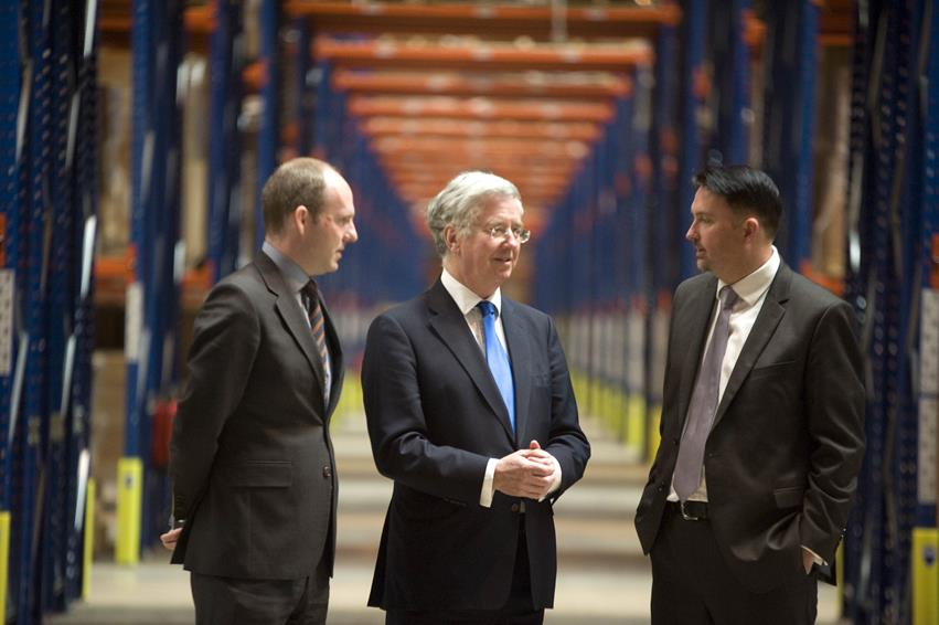 Snapped: UK Minister Visits Successful Swindon Business