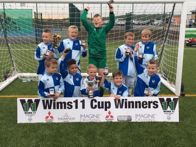 Bristol Rovers U8's triumph in first WIMS 11 Cup
