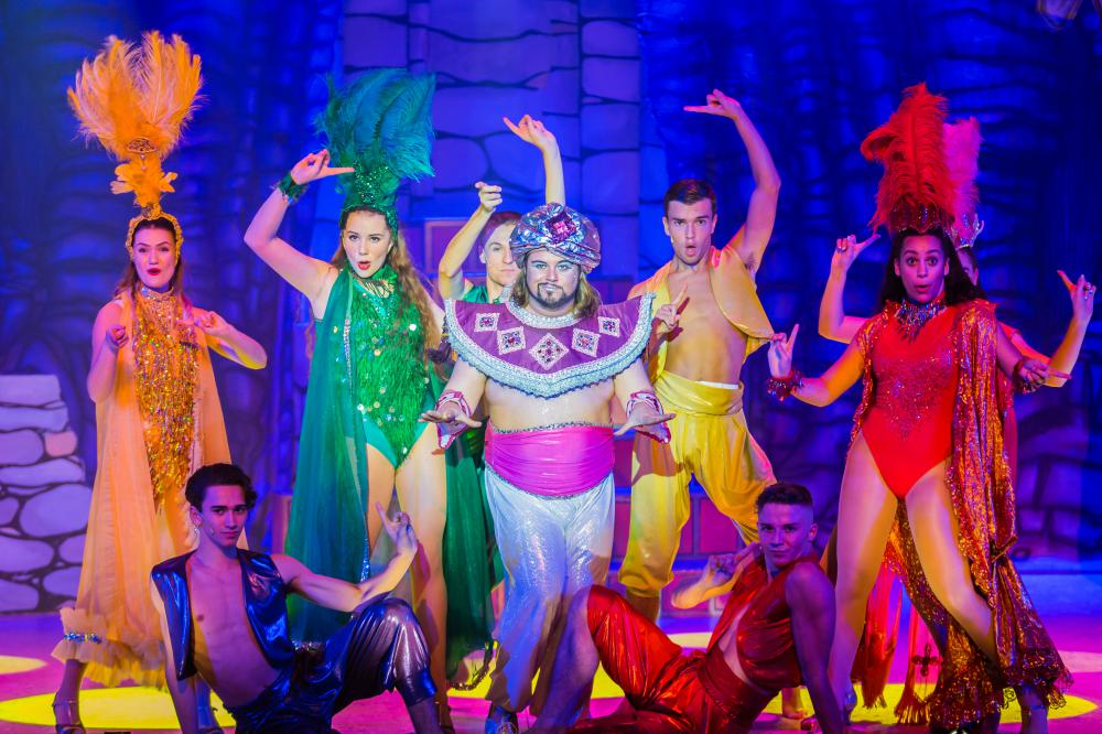 REVIEW: Aladdin at the Wyvern Theatre