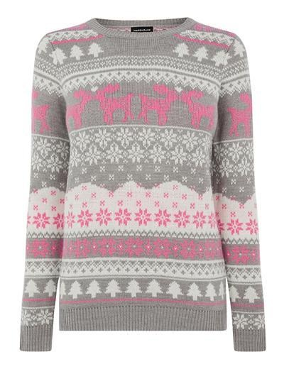 warehouse christmas jumper