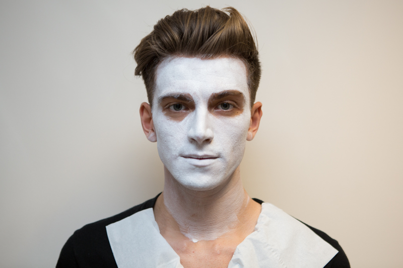 Halloween Face Painting Skeleton