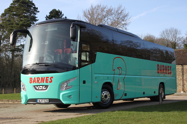 Barnes Coaches Swindon