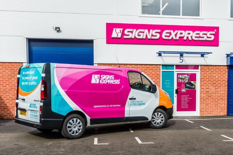 5% off Signs and Graphics with Signs Express Swindon