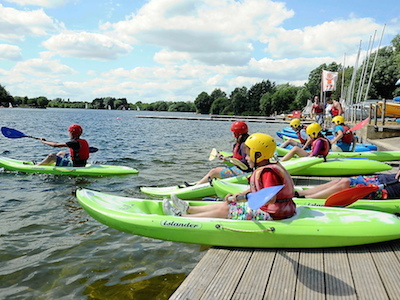 BCU Youth Paddling Course
