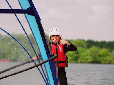 Windsurfing at South Cerney Outdoor