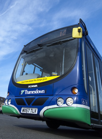 Thamesdown Transport Sold to Major Bus Operator
