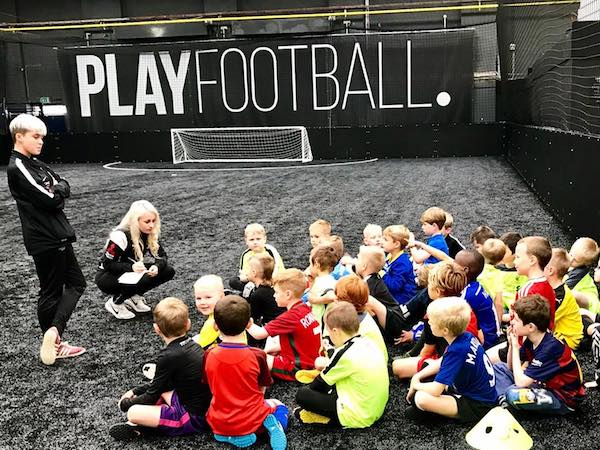 Win a Place on Wims 11 Easter Football Camp