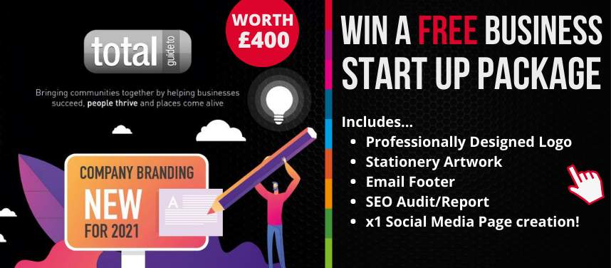 Win a FREE Business Start-Up Brand Package Worth £400+VAT from Total Guide to